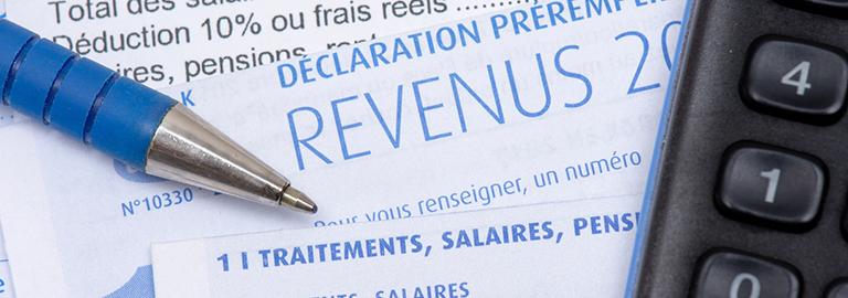 Déclaration des revenus campagne 2021