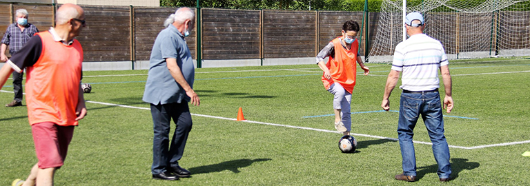 Read more about the article Football en marchant